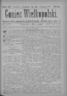 Goniec Wielkopolski: najtańsze pismo codzienne dla wszystkich stanów 1877.11.08 Nr209