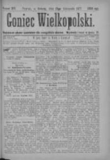 Goniec Wielkopolski: najtańsze pismo codzienne dla wszystkich stanów 1877.11.17 Nr217