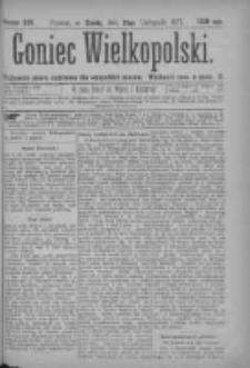 Goniec Wielkopolski: najtańsze pismo codzienne dla wszystkich stanów 1877.11.21 Nr220