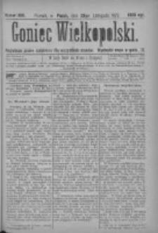 Goniec Wielkopolski: najtańsze pismo codzienne dla wszystkich stanów 1877.11.23 Nr222