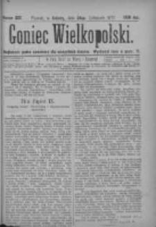 Goniec Wielkopolski: najtańsze pismo codzienne dla wszystkich stanów 1877.11.24 Nr223