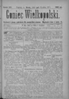 Goniec Wielkopolski: najtańsze pismo codzienne dla wszystkich stanów 1877.12.05 Nr232