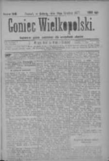 Goniec Wielkopolski: najtańsze pismo codzienne dla wszystkich stanów 1877.12.15 Nr240