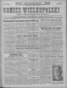 Goniec Wielkopolski: najstarszy i najtańszy niezależny dziennik demokratyczny 1930.02.28 R.54 Nr49