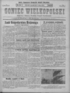 Goniec Wielkopolski: najstarszy i najtańszy niezależny dziennik demokratyczny 1930.03.06 R.54 Nr54