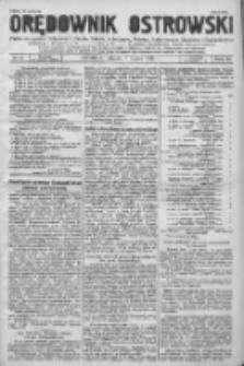 Orędownik Ostrowski: pismo na powiat Ostrowski oraz miast Ostrowa, Odolanowa, Sulmierzyc, Raszkowa i Skalmierzyc 1936.03.03 R.85 Nr18