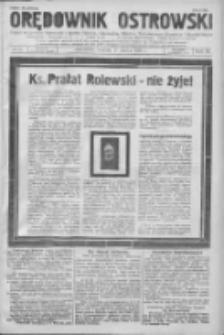 Orędownik Ostrowski: pismo na powiat Ostrowski oraz miast Ostrowa, Odolanowa, Sulmierzyc, Raszkowa i Skalmierzyc 1936.03.17 R.85 Nr22