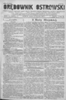 Orędownik Ostrowski: pismo na powiat Ostrowski oraz miast Ostrowa, Odolanowa, Sulmierzyc, Raszkowa i Skalmierzyc 1936.04.24 R.85 Nr33