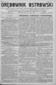 Orędownik Ostrowski: pismo na powiat Ostrowski oraz miast Ostrowa, Odolanowa, Sulmierzyc, Raszkowa i Skalmierzyc 1936.05.12 R.85 Nr38