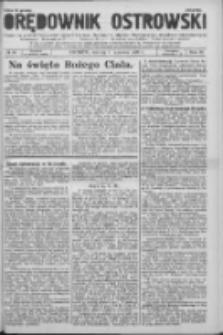 Orędownik Ostrowski: pismo na powiat Ostrowski oraz miast Ostrowa, Odolanowa, Sulmierzyc, Raszkowa i Skalmierzyc 1936.06.09 R.85 Nr46