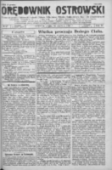 Orędownik Ostrowski: pismo na powiat Ostrowski oraz miast Ostrowa, Odolanowa, Sulmierzyc, Raszkowa i Skalmierzyc 1936.06.12 R.85 Nr47
