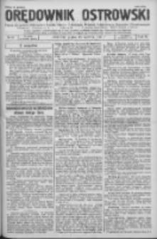 Orędownik Ostrowski: pismo na powiat Ostrowski oraz miast Ostrowa, Odolanowa, Sulmierzyc, Raszkowa i Skalmierzyc 1936.06.19 R.85 Nr49