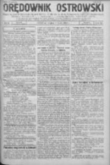 Orędownik Ostrowski: pismo na powiat Ostrowski oraz miast Ostrowa, Odolanowa, Sulmierzyc, Raszkowa i Skalmierzyc 1936.07.03 R.85 Nr53