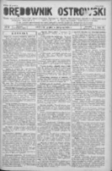 Orędownik Ostrowski: pismo na powiat Ostrowski oraz miast Ostrowa, Odolanowa, Sulmierzyc, Raszkowa i Skalmierzyc 1936.08.07 R.85 Nr63