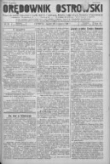Orędownik Ostrowski: pismo na powiat Ostrowski oraz miast Ostrowa, Odolanowa, Sulmierzyc, Raszkowa i Skalmierzyc 1936.08.28 R69
