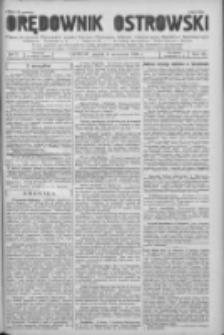 Orędownik Ostrowski: pismo na powiat Ostrowski oraz miast Ostrowa, Odolanowa, Sulmierzyc, Raszkowa i Skalmierzyc 1936.09.04 R.85 Nr71