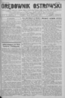 Orędownik Ostrowski: pismo na powiat Ostrowski oraz miast Ostrowa, Odolanowa, Sulmierzyc, Raszkowa i Skalmierzyc 1936.09.25 R.85 Nr77