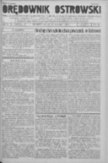 Orędownik Ostrowski: pismo na powiat Ostrowski oraz miast Ostrowa, Odolanowa, Sulmierzyc, Raszkowa i Skalmierzyc 1936.09.29 R.85 Nr78