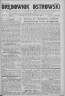 Orędownik Ostrowski: pismo na powiat Ostrowski oraz miast Ostrowa, Odolanowa, Sulmierzyc, Raszkowa i Skalmierzyc 1936.10.27 R.85 Nr86