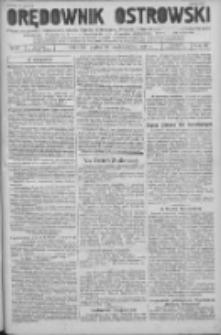 Orędownik Ostrowski: pismo na powiat Ostrowski oraz miast Ostrowa, Odolanowa, Sulmierzyc, Raszkowa i Skalmierzyc 1936.10.30 R.85 Nr87