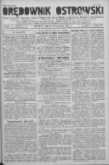 Orędownik Ostrowski: pismo na powiat Ostrowski oraz miast Ostrowa, Odolanowa, Sulmierzyc, Raszkowa i Skalmierzyc 1936.11.06 R.85 Nr89