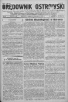 Orędownik Ostrowski: pismo na powiat Ostrowski oraz miast Ostrowa, Odolanowa, Sulmierzyc, Raszkowa i Skalmierzyc 1936.11.13 R.85 Nr91