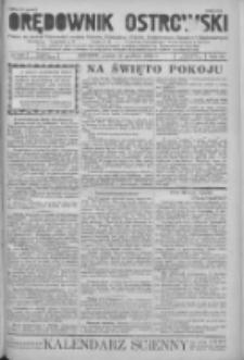 Orędownik Ostrowski: pismo na powiat Ostrowski oraz miast Ostrowa, Odolanowa, Sulmierzyc, Raszkowa i Skalmierzyc 1936.12.25 R.85 Nr103