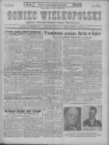 Goniec Wielkopolski: najstarszy i najtańszy niezależny dziennik demokratyczny 1930.03.14 R.54 Nr61