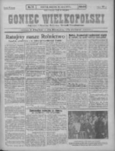 Goniec Wielkopolski: najstarszy i najtańszy niezależny dziennik demokratyczny 1930.03.26 R.54 Nr71