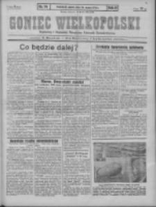 Goniec Wielkopolski: najstarszy i najtańszy niezależny dziennik demokratyczny 1930.03.29 R.54 Nr74