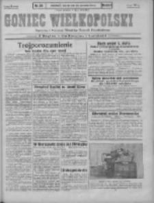 Goniec Wielkopolski: najstarszy i najtańszy niezależny dziennik demokratyczny 1930.04.28 R.54 Nr99
