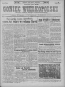 Goniec Wielkopolski: najstarszy i najtańszy niezależny dziennik demokratyczny 1930.05.13 R.54 Nr110