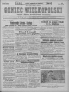 Goniec Wielkopolski: najstarszy i najtańszy niezależny dziennik demokratyczny 1930.05.16 R.54 Nr113