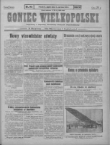 Goniec Wielkopolski: najstarszy i najtańszy niezależny dziennik demokratyczny 1930.06.21 R.54 Nr141