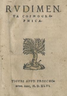 Rudimenta Cosmographica