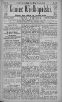 Goniec Wielkopolski: najtańsze pismo codzienne dla wszystkich stanów 1883.01.28 R.7 Nr22