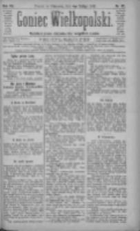 Goniec Wielkopolski: najtańsze pismo codzienne dla wszystkich stanów 1883.02.04 R.7 Nr27