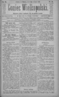 Goniec Wielkopolski: najtańsze pismo codzienne dla wszystkich stanów 1883.02.06 R.7 Nr28