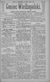 Goniec Wielkopolski: najtańsze pismo codzienne dla wszystkich stanów 1883.02.08 R.7 Nr30