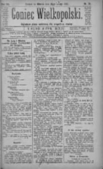 Goniec Wielkopolski: najtańsze pismo codzienne dla wszystkich stanów 1883.02.13 R.7 Nr34