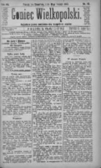 Goniec Wielkopolski: najtańsze pismo codzienne dla wszystkich stanów 1883.02.22 R.7 Nr42