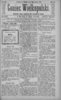 Goniec Wielkopolski: najtańsze pismo codzienne dla wszystkich stanów 1883.03.16 R.7 Nr61