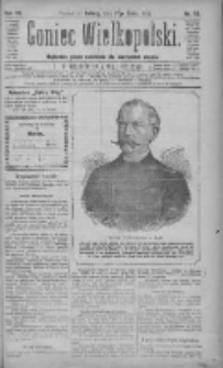 Goniec Wielkopolski: najtańsze pismo codzienne dla wszystkich stanów 1883.03.17 R.7 Nr62