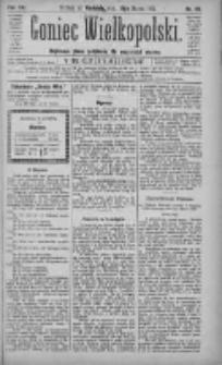 Goniec Wielkopolski: najtańsze pismo codzienne dla wszystkich stanów 1883.03.18 R.7 Nr63