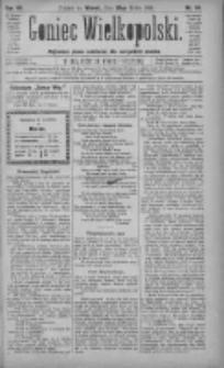Goniec Wielkopolski: najtańsze pismo codzienne dla wszystkich stanów 1883.04.20 R.7 Nr64