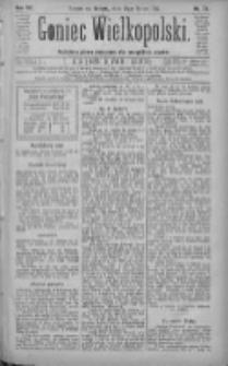 Goniec Wielkopolski: najtańsze pismo codzienne dla wszystkich stanów 1883.03.31 R.7 Nr73