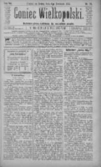 Goniec Wielkopolski: najtańsze pismo codzienne dla wszystkich stanów 1883.04.04 R.7 Nr76