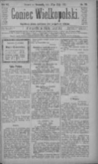Goniec Wielkopolski: najtańsze pismo codzienne dla wszystkich stanów 1883.05.27 R.7 Nr118