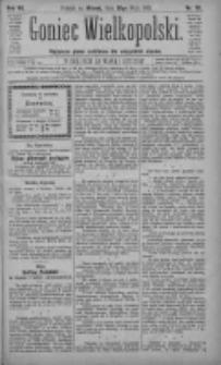 Goniec Wielkopolski: najtańsze pismo codzienne dla wszystkich stanów 1883.05.29 R.7 Nr119