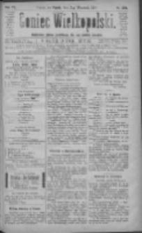 Goniec Wielkopolski: najtańsze pismo codzienne dla wszystkich stanów 1883.09.07 R.7 Nr204